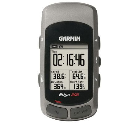 garmin edge 305 gps cyclist trainer with heartrate monitor qvc com rh qvc com garmin edge 305 user manual pdf Garmin Edge 305 Sale
